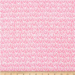 Kanvas All Stars Heart Ribbons Pink