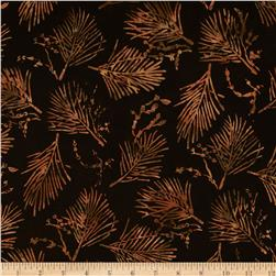 Moda Pine Island Batiks Needles Steel Brown