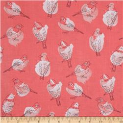 Riley Blake Desert Bloom Bird Pink