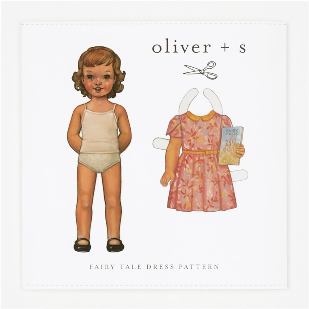 Oliver + S Fairy Tale Dress Pattern 5-12