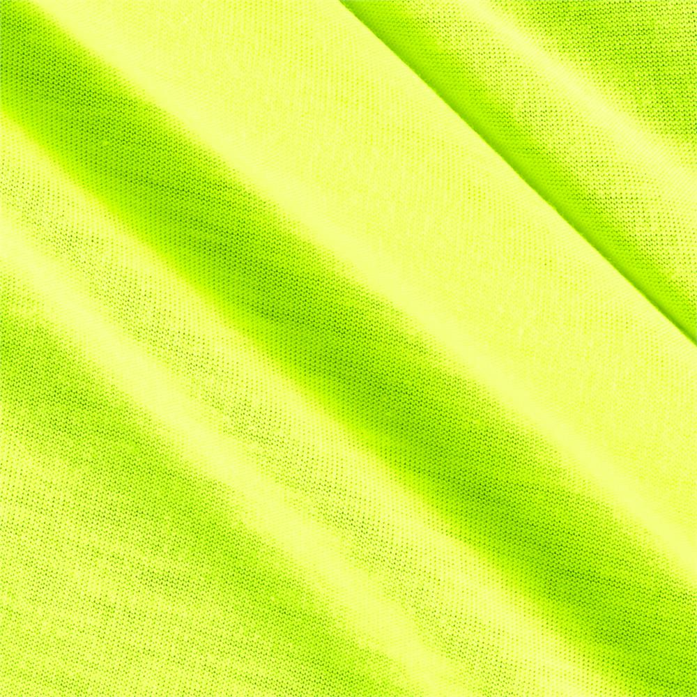 Poly Jersey Knit Solid Neon Green