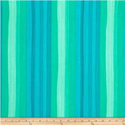 Moda Spectrum Ombre Stripes Turquoise