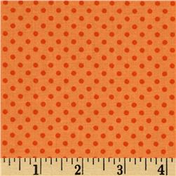 Baby Talk Dots Orange