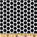 Riley Blake Honeycomb Reversed Dot White/Black