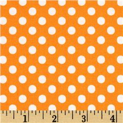 Moda Dot .Dot.Dash-! Dots Everywhere Orange
