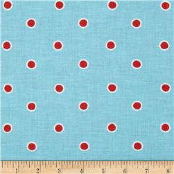 Fox Playground Dots Aqua