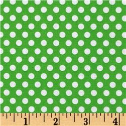 Michael Miller Happy Tones Kiss Dot Mint Fabric