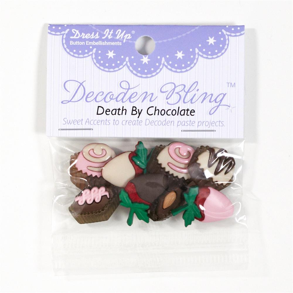 Dress It Up Embellishment Buttons Death By Chocolate