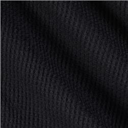 Cotton Thermal Knit Black