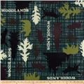 Winterfleece Woodlands Multi