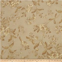 Jinny Beyer Chelsea Floral Vine Gold Fabric