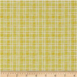 Believe Dashed Plaid Yellow