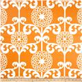 Waverly Fun Floret Sateen Citrus Orange