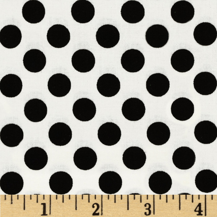 Michael Miller Ta Dot Dalmation Fabric