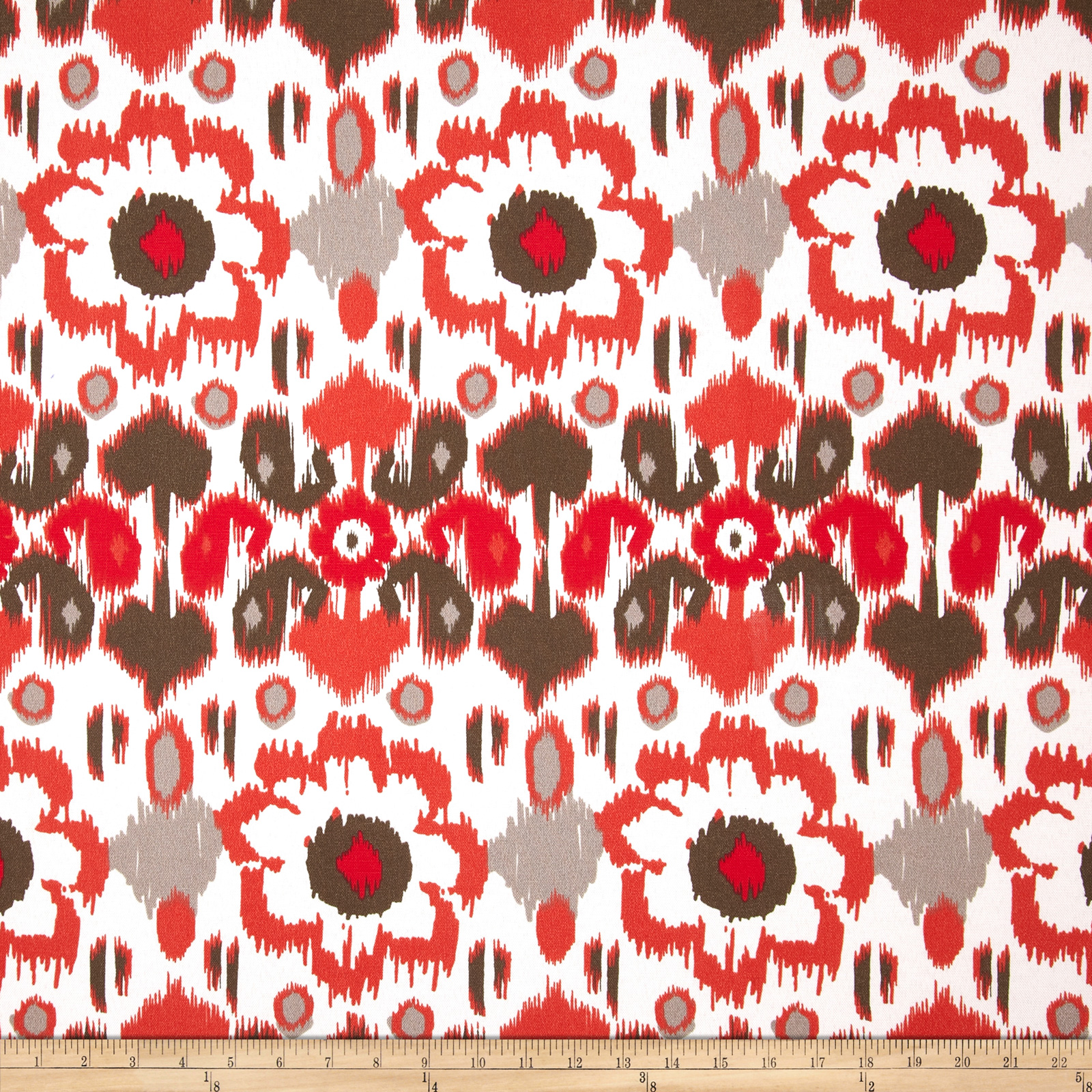 Premier Prints Indoor/Outdoor Rio Salmon Fabric