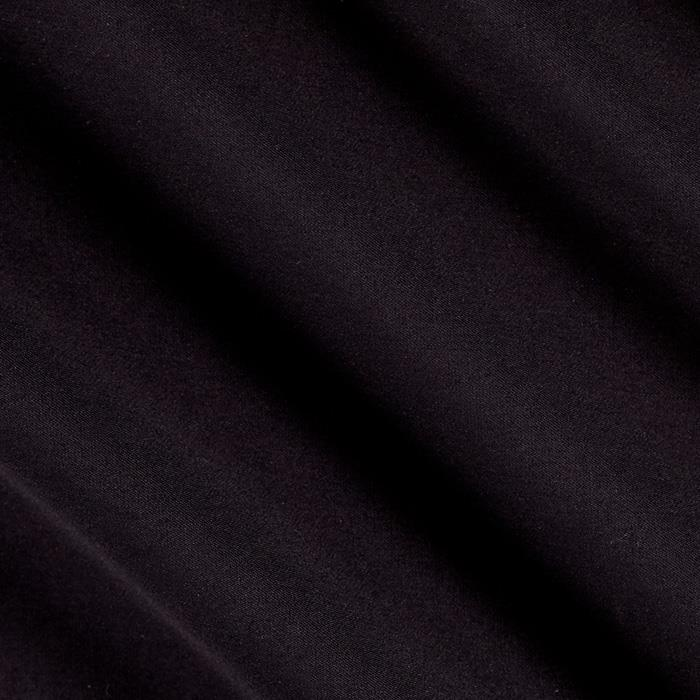 Cotton Broadcloth Jet Black