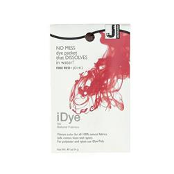 Jacquard iDye Natural Fiber Dye Fire Red