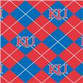 Collegiate Fleece University of Kansas Argyle