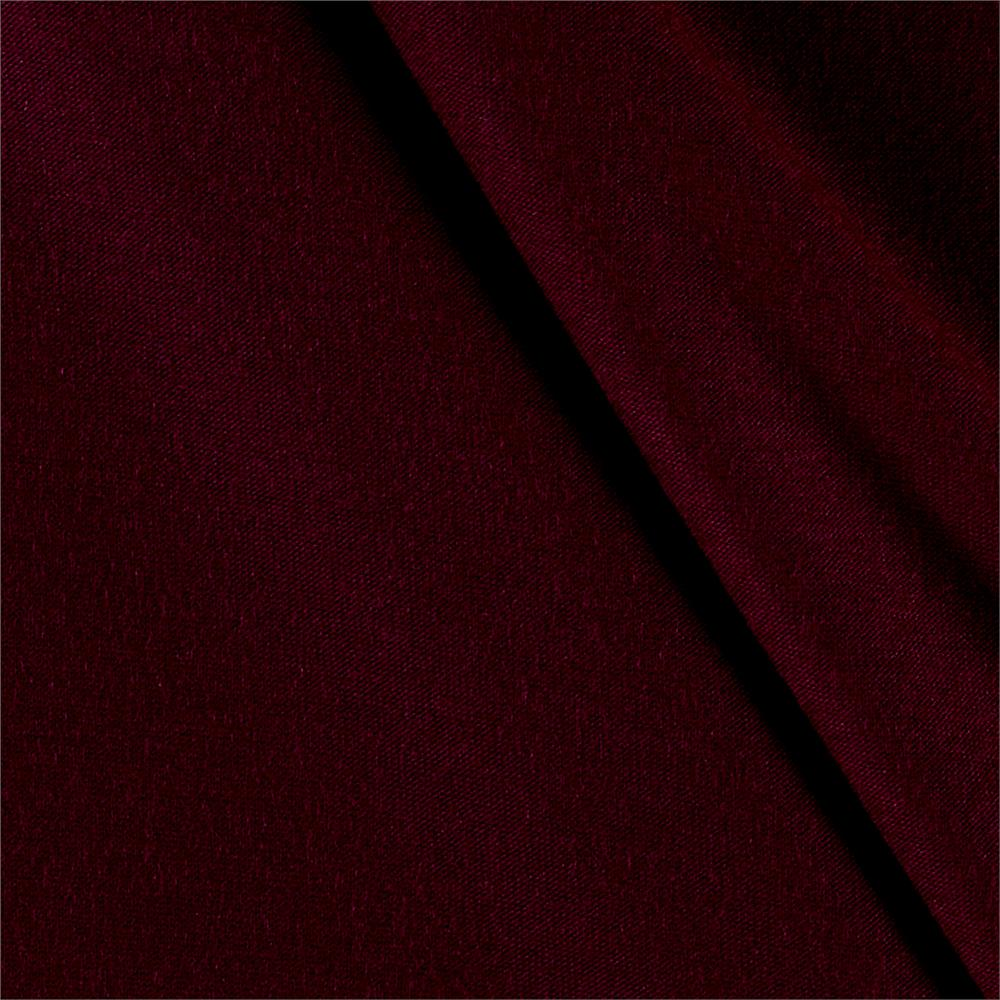 Rayon Jersey Knit Solid Magenta Fabric