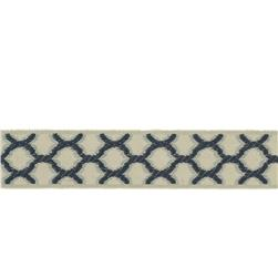 "Fabricut 1.5"" Decor Trim Teal"