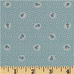 Lecien Kate Greenaway Coordinates Mini Medallion Blue
