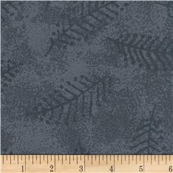 "110"" Wide Flannel Quilt Back Fern Grey"