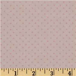Cotton Tale Flannel Pin Dot Pink