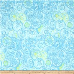 Soft Dreams Large Medallion Blue