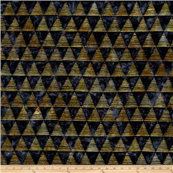 Kaufman Quilt Block Batik Triangle Strip Storm