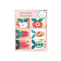 Ellie Mae Designs Bountiful Reversible Placemats Pattern