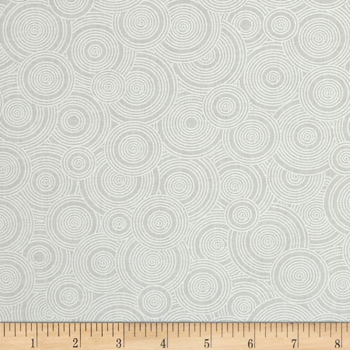"108"" Contempo Quilt Backing Spiral White/Tint"