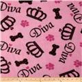 Diva Dog Fleece Pink