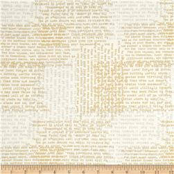 Moda Modern Backgrounds Luster Metallic Shakespeare White