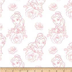 Disney Beauty and the Beast Bold as a Rose Dusty Pink