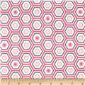 Penelope Bath House Tiles Pink