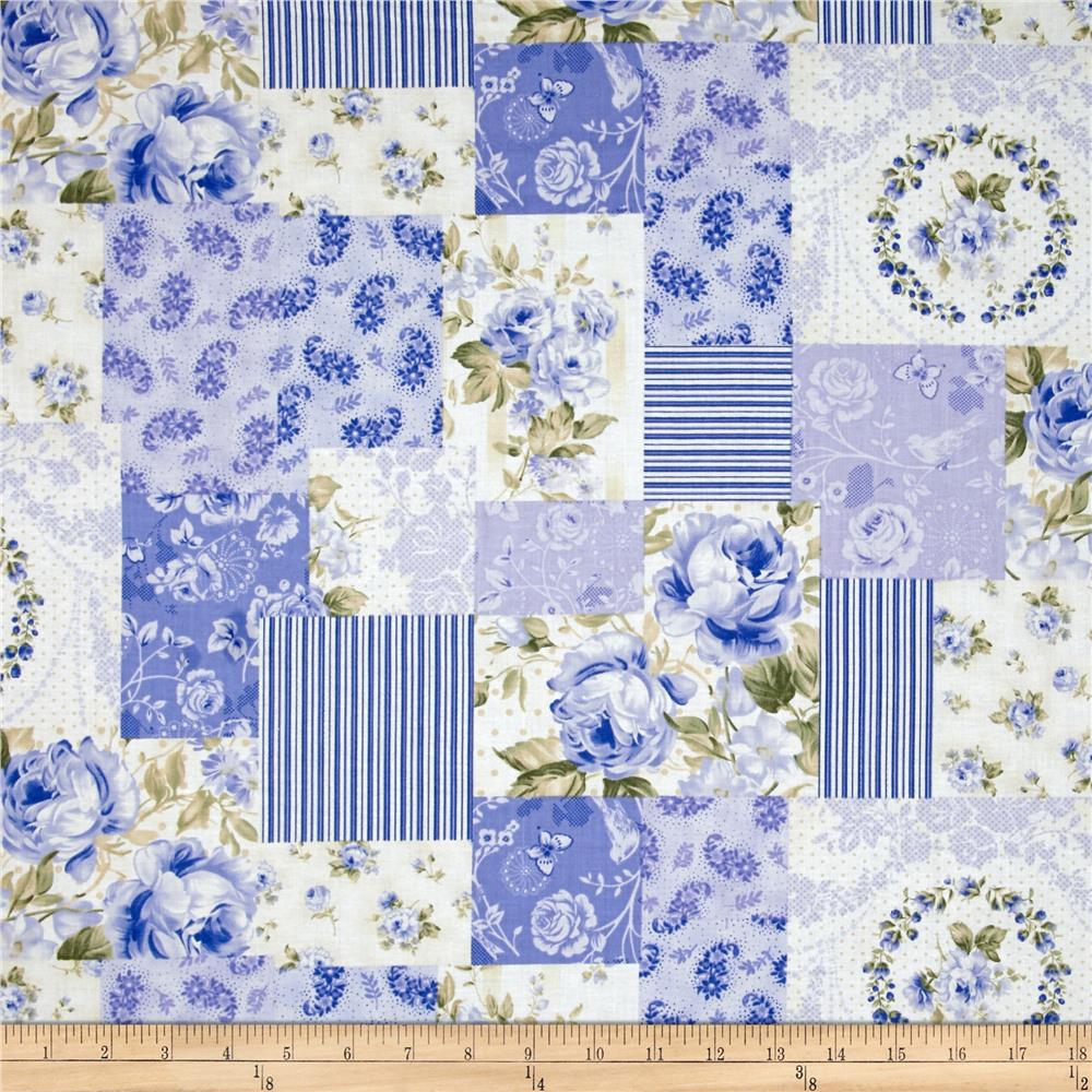 Ellie Ann Collage Blue