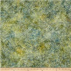 Wilmington Batiks Squiggles Forest Green