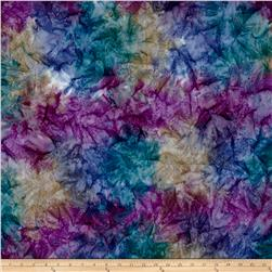 Kaufman Artisan Batiks Patina Handpaints Mottled Wineberry