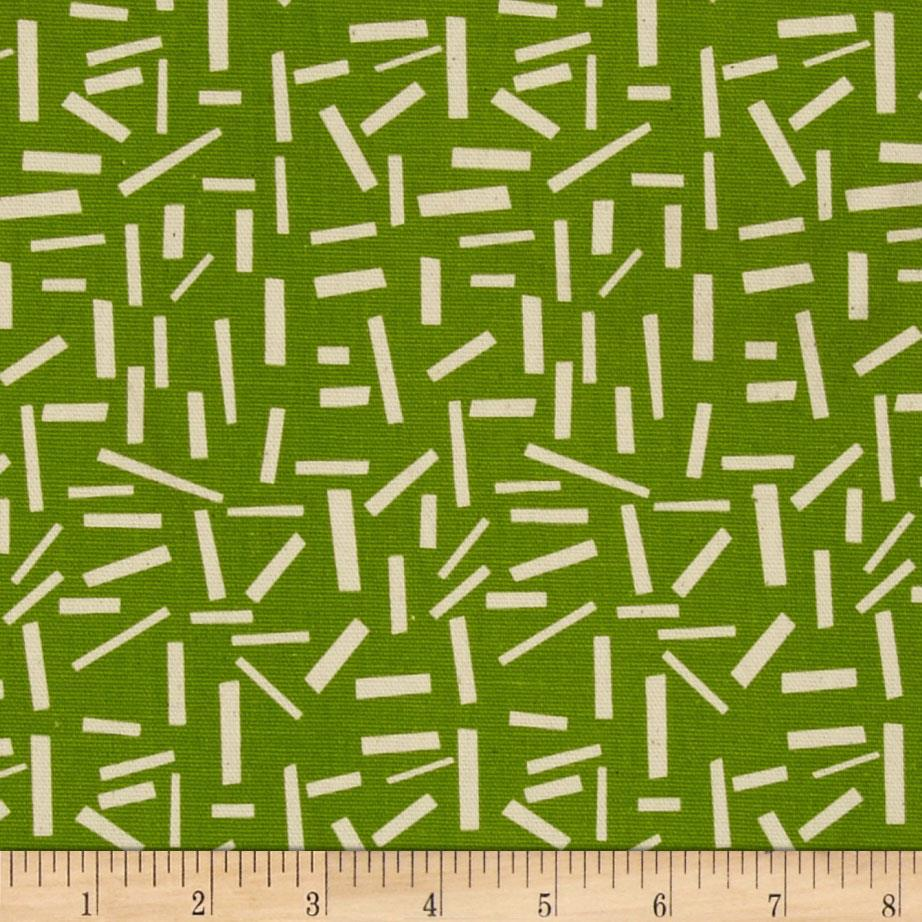 Premier Prints Sprinkles Gumdrop Green/Natural