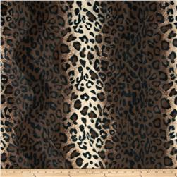 Velboa Faux Fur Leopard Brown