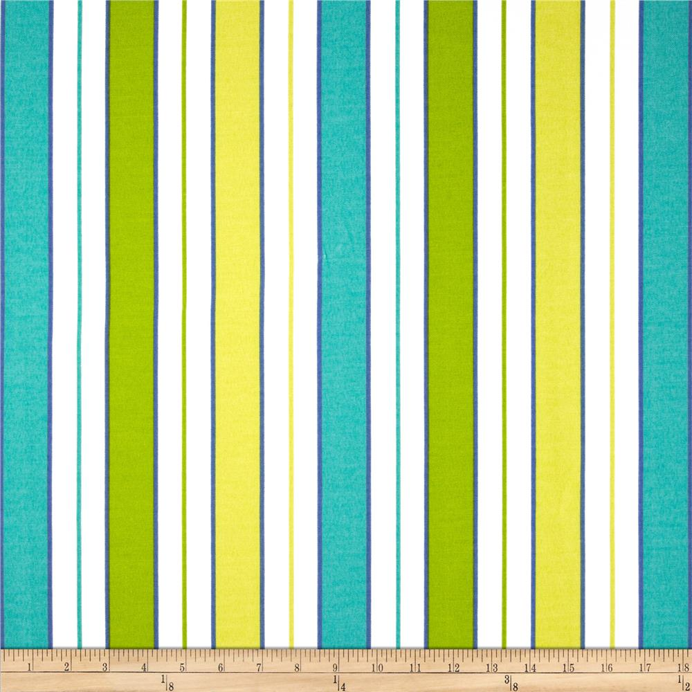 P Kaufmann Indoor/Outdoor Resort Stripe Poolside