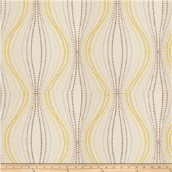 Fabricut Sabalo Embroidered Satin Lemon