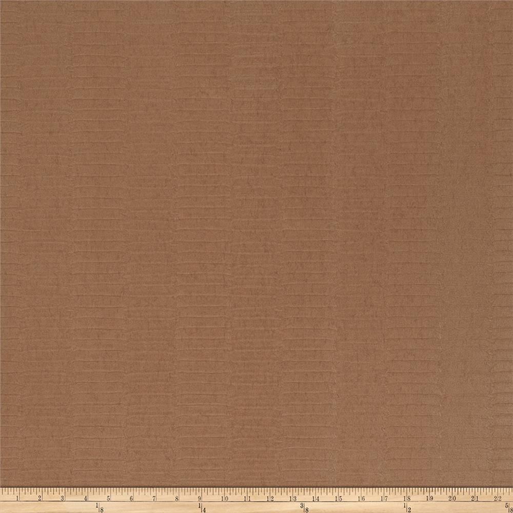 Fabricut 50138w Dharo Wallpaper Chestnut 01 (Double Roll)