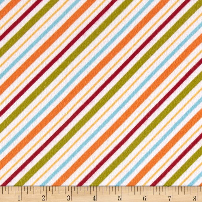 Riley Blake Happy Camper Flannel Stripe Multi