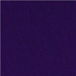 Heavy Weight Rib Knit Purple