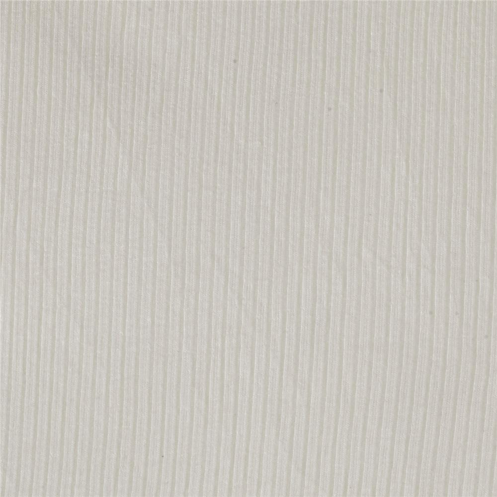 4X2 Rib Knit Off White