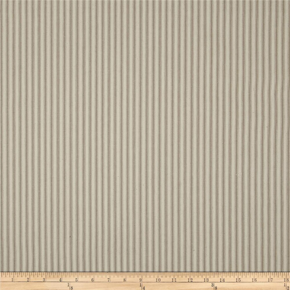 "44"" Ticking Stripe Khaki"