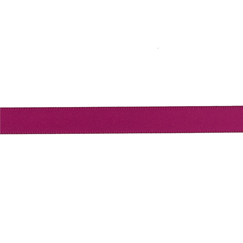 "May Arts 3/8"" Double Face Satin Ribbon Spool Burgundy"