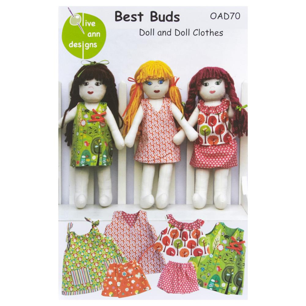 Olive Ann Designs Best Buds Doll Pattern