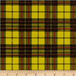 Oil Cloth Glen Plaid Yellow Fabric